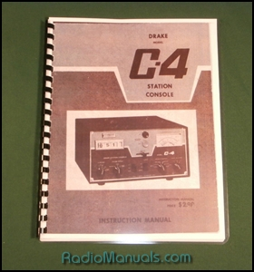 Drake C-4 Instruction Manual