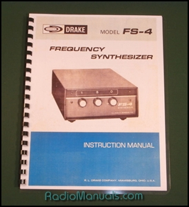 Drake FS-4 Instruction Manual