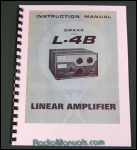 Drake L-4B Instruction Manual