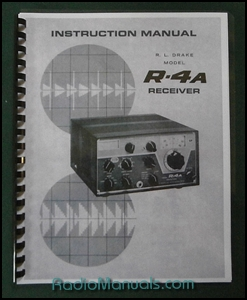 "Drake R-4A Instruction manual: 11"" x 17"" Foldout Schematic"