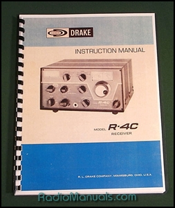"11/"" X 17/"" Foldout Schematics /& Card Stock Covers! Drake UV-3 Service Manual"