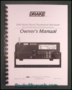 Drake SW-8 Instruction Manual