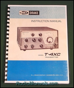 "Drake T-4XC Owners Manual: 11"" x 17"" Foldout Schematic"