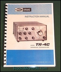 "Drake TR-4C Instruction Manual: 11"" x 17"" Foldout Schematic"
