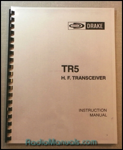 Drake TR-5 Instruction Manual