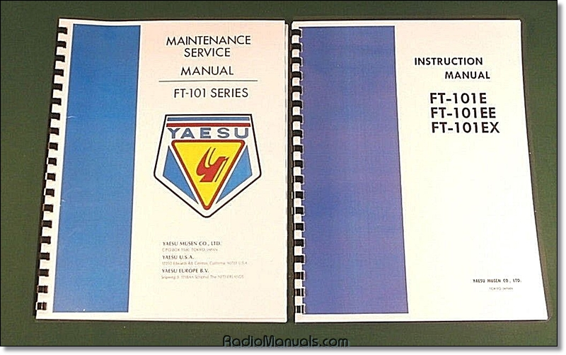 Yaesu FT-101E Service and Instruction Manuals